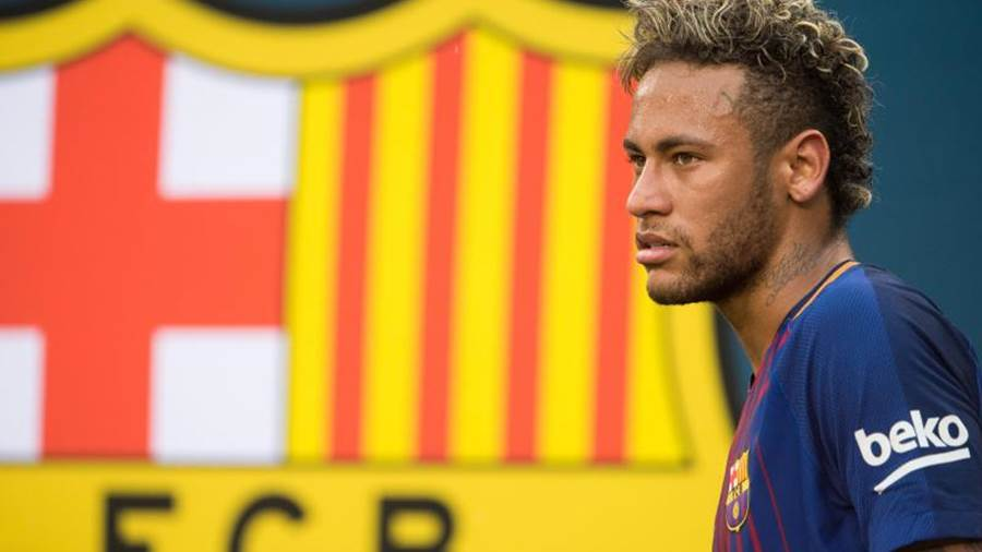 Vorerst zurück in Barcelona: Neymar. Foto: Mike Lawrence
