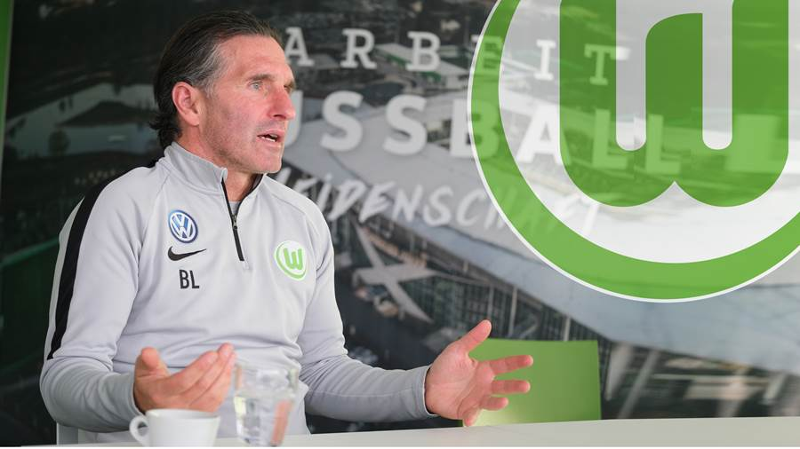 Wolfsburg, VfL-Center, VfL Wolfsburg, Interview, Bruno Labbadia, Trainer, Portrait, Porträt