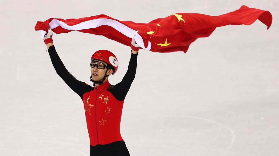 Wu Dajing (China) - Shorttrack, 500 m Sprint, Herren
